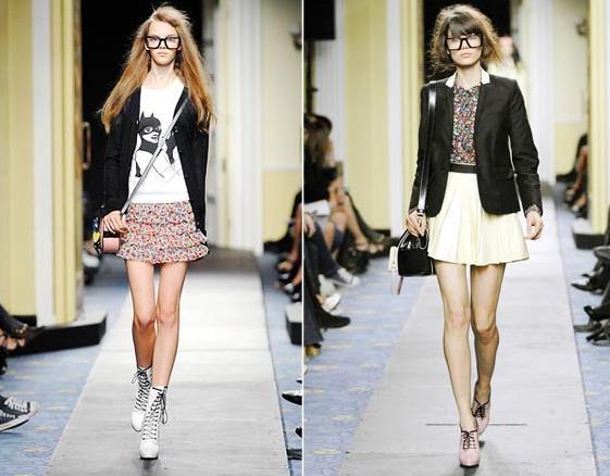A tendência geek chic traz os óculos de grau para a moda, uma ótima pedida  pra quem não curtia esse acessório que pra muitas divas por aí são  obrigatórios! 5123d8b9ee