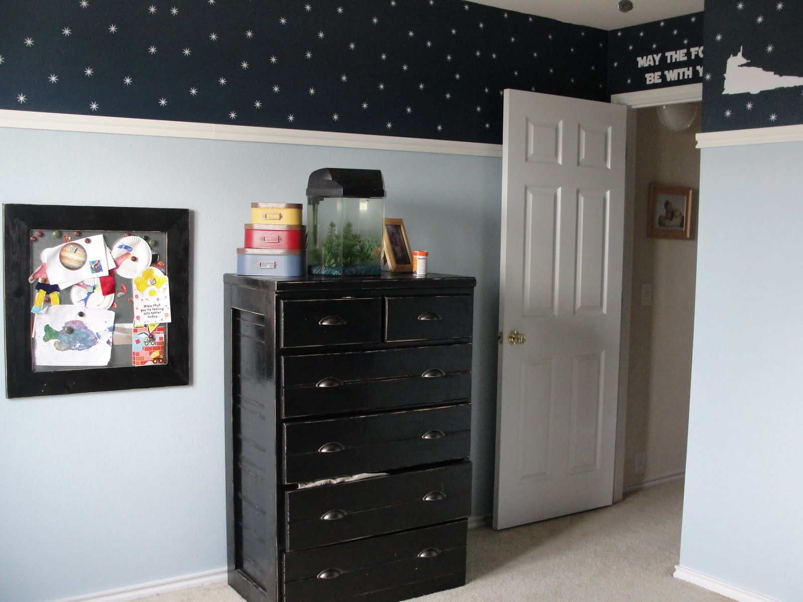 Star Wars Themed Bedroom Ideas Piccadilly Peddlers Boy 39s Star Wars Room