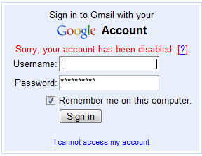 how to fix a locked gmail account