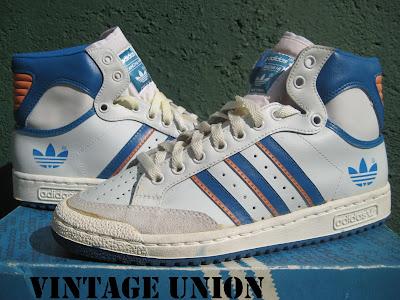 Vintage Union: adidas Europa Hi VS adidas Cancha Hi