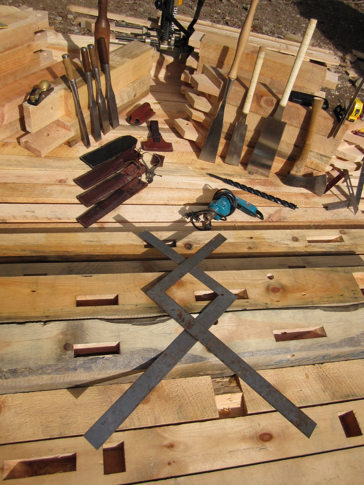 Woodwright Timber Frames And Furniture Tools Of The Trade