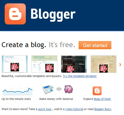 Daily Digital Google Blogger Home Page Redesigned