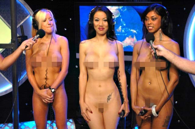 howard stern naked games