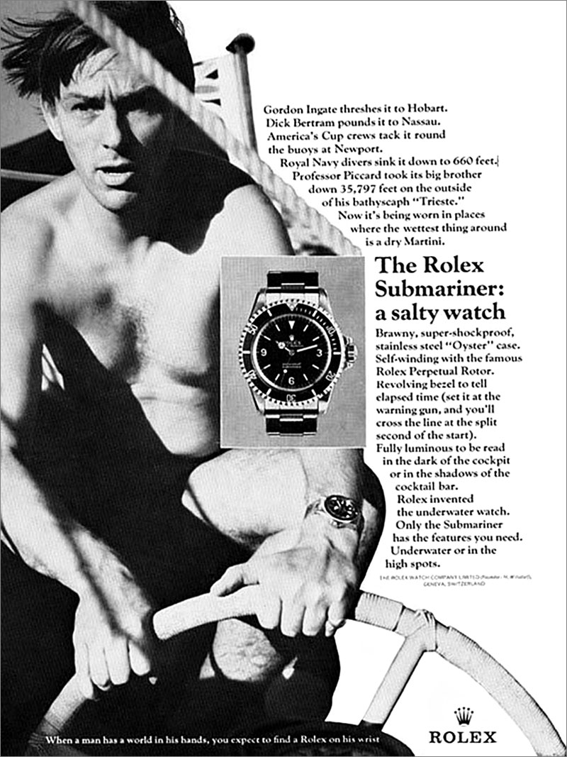 Admiral Cod Rolex Submariner For Cockpit Or Cocktail Bar