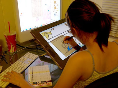 Shop talk: Traditional animation and Cintiq tablets | Animation School Daily