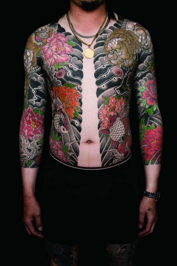 yakuza tattoo design gallery - photo #14