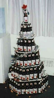 Have a Very Beery Christmas | Cool Material |2946 Beer Bottle Christmas Tree
