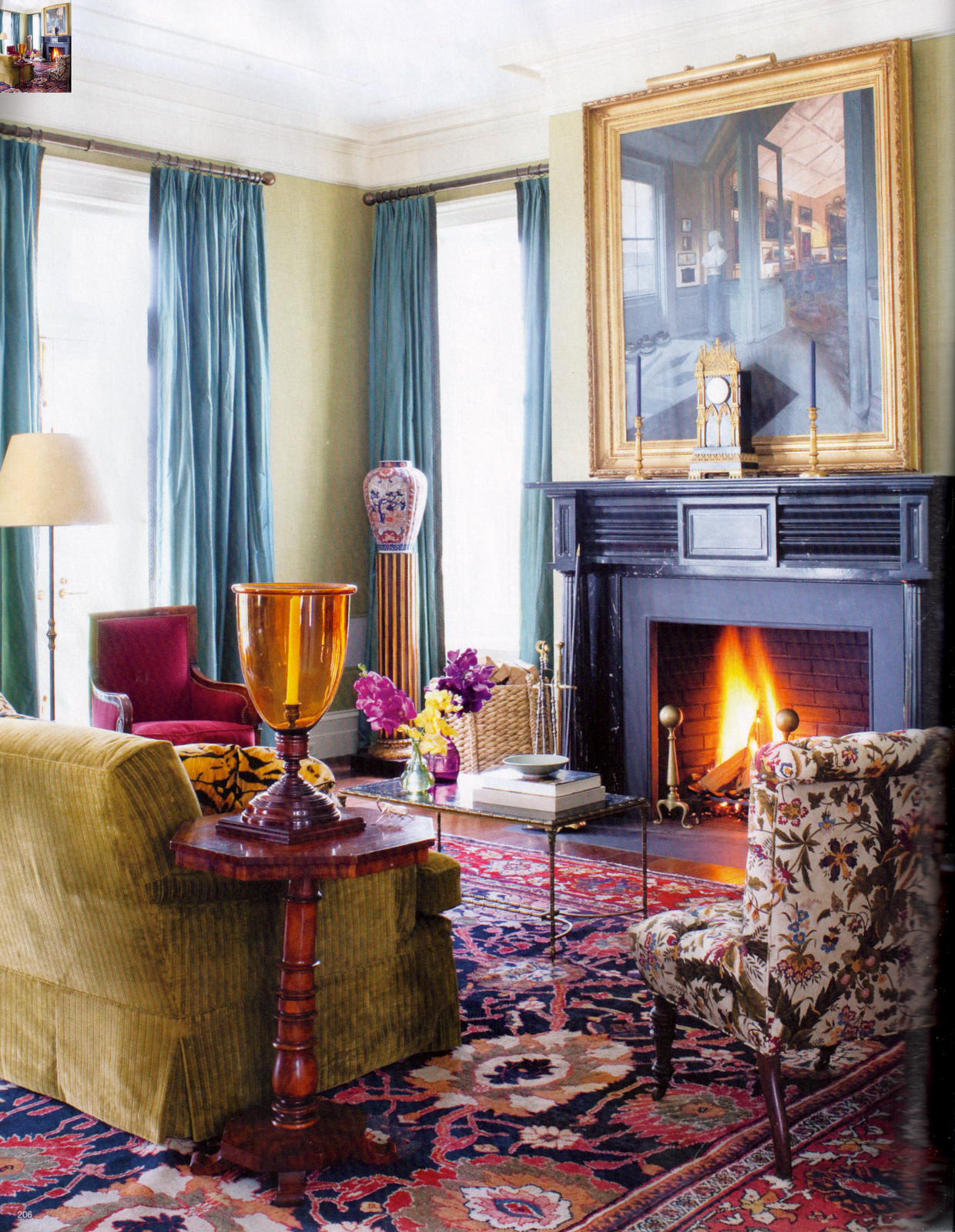 Us Interior Designs Jacques Grange: US Interior Designs: MILES REDD AND GIL SCHAFER IN NEW YORK