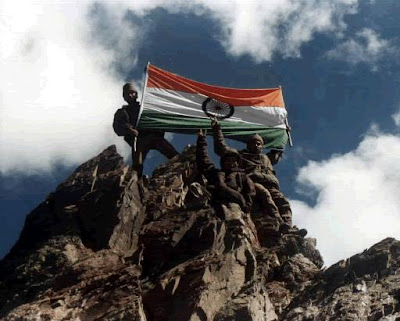 Indian army at Kargil