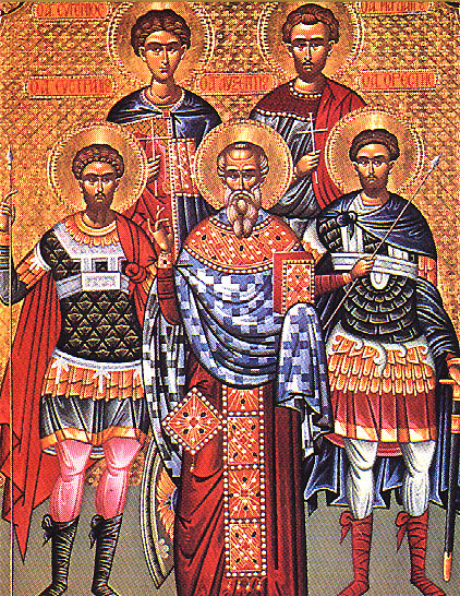 A Sinner The Holy Martyrs Eustratius Auxentius Eugene