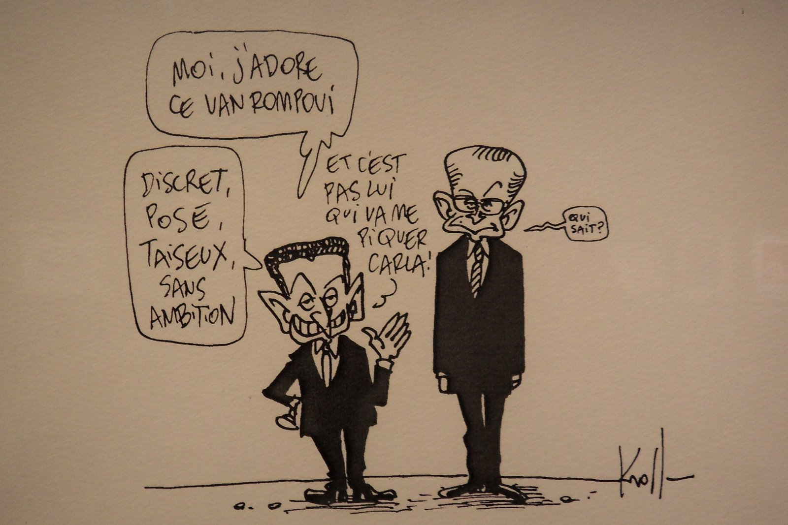 rencontre obama sarkozy washington