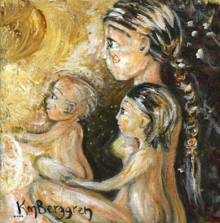 Motherhood Painting: Energy