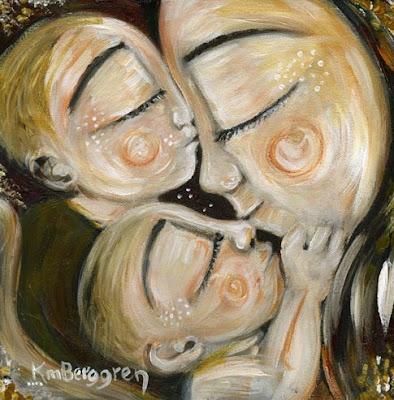 Motherhood Painting: Star Crossed