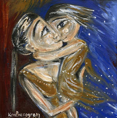 Motherhood Painting: Light Of Day