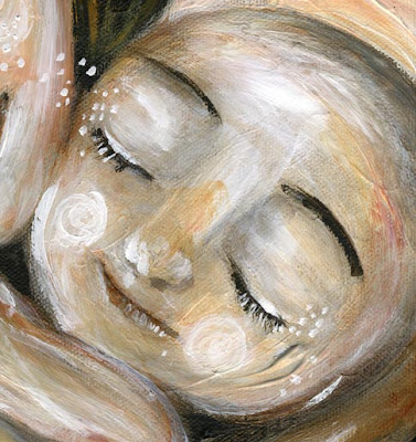 motherhood painting, Possibilities by Katie m. Berggren