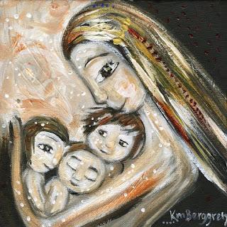 Three New 8×8 Motherhood Paintings!