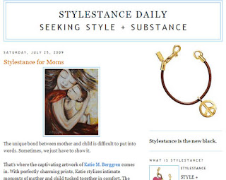 Stylestance, North Bank Magazine, HandMade News, Top Artists Directory… some shameless back-patting for myself and others!