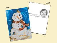 Gingerbread ~ Holiday Cards ~ Free Cards Friday