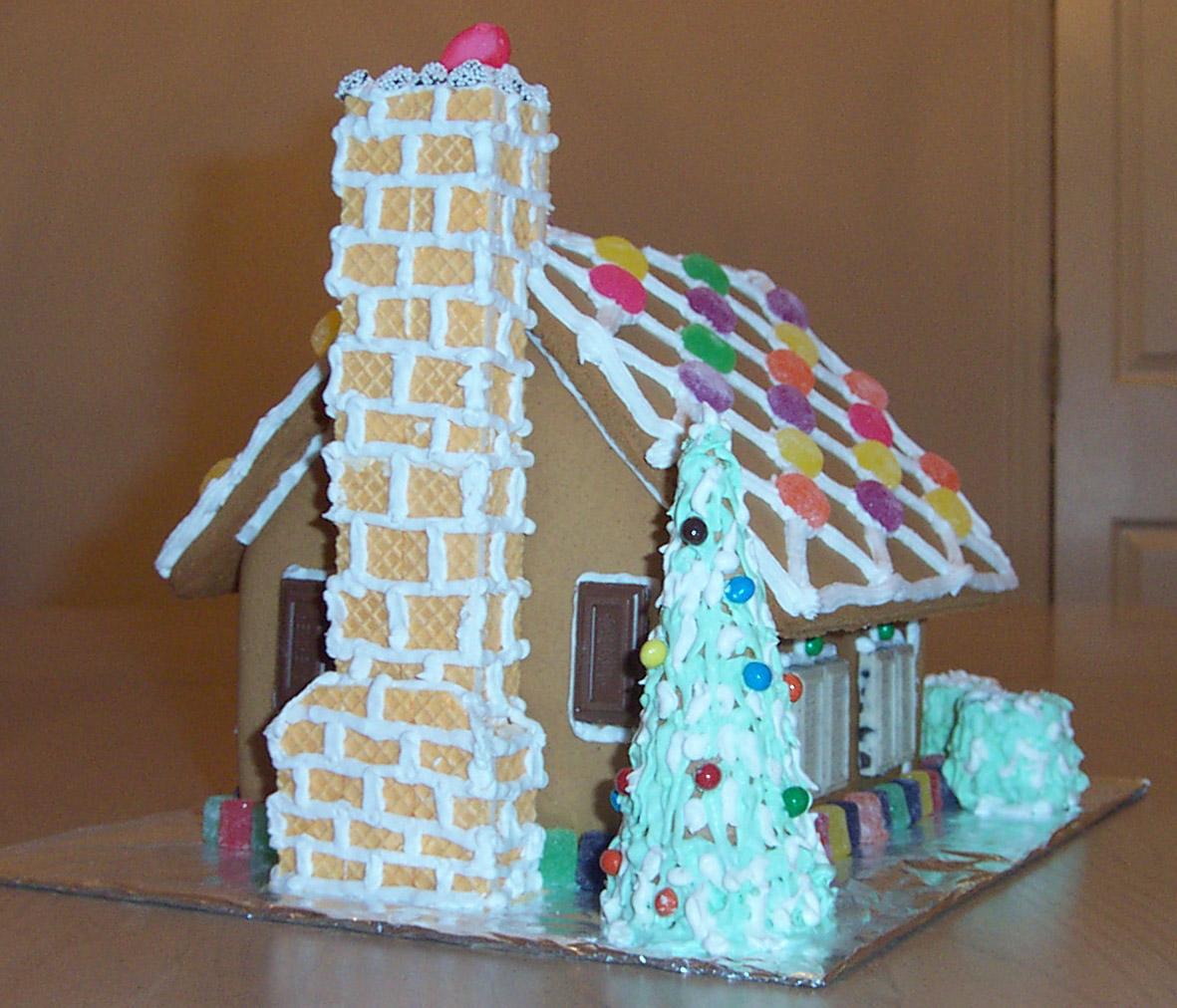 Redesign Bedroom Ideas: Creative Splatter: Gingerbread House 2002