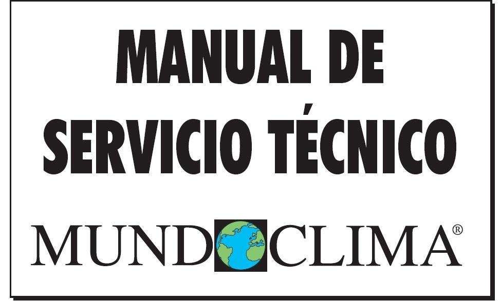 MANUAL DE SERVICIO TÉCNICO DE AIRE ACONDICIONADO