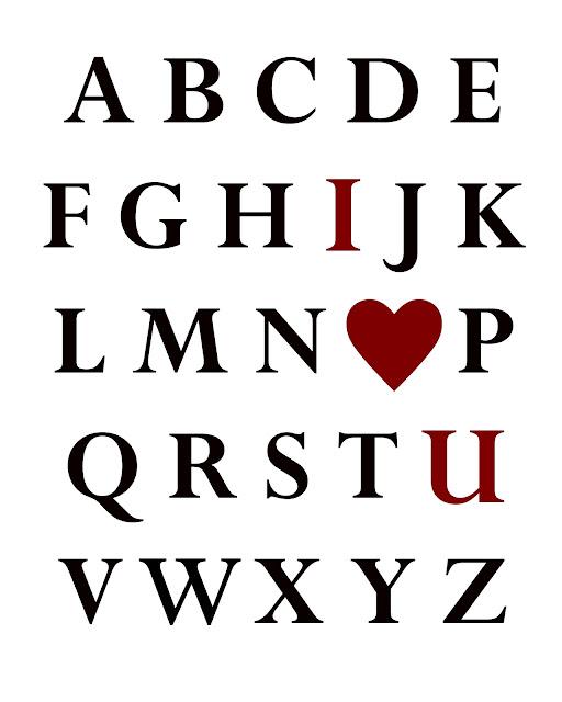 Ready, Set, Create!!: Valentines Day Alpha Printables