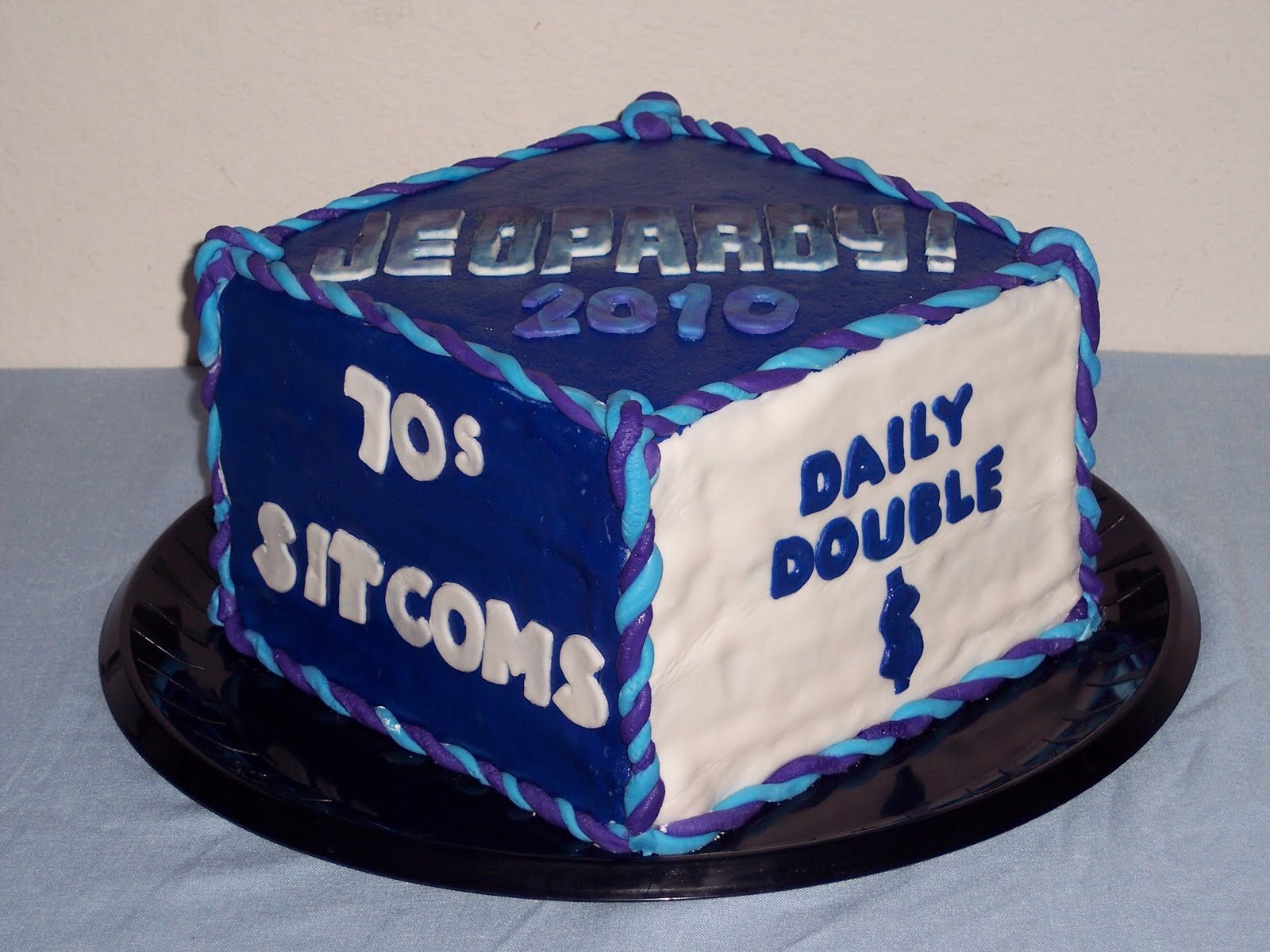 Birthday Cakes For Kids Jeopardy Theme Cake