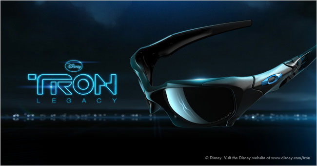 6b23c710de Tron Legacy Sunglasses - Oakley and Disney in 3D ~ Everything Sunglasses