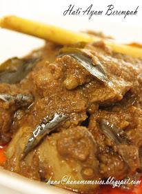 Masak Ati Ayam : masak, HaNa's, FamiLy:, Berempah