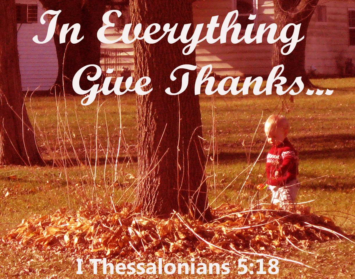 Thanksgiving Give Thanks For Everything