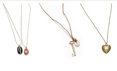 collares colgantes necklaces oysho verano nueva colección