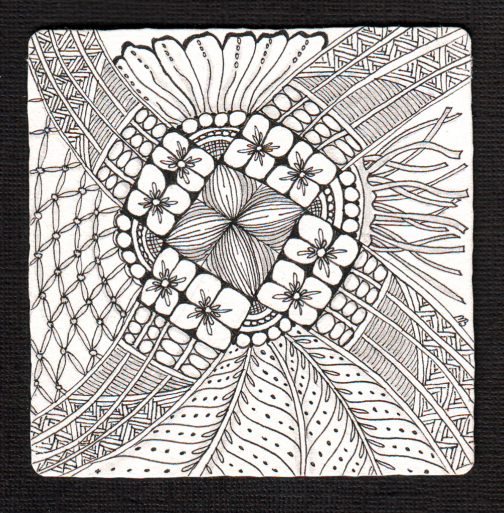 zentangling  presenting shelly beauch u0026 39 s zentangles