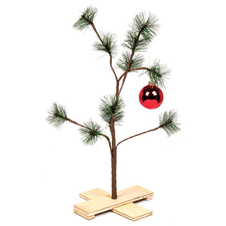 despite its awfulness im still tempted to buy one of these for the novelty value the program still remains my favorite holiday special and after viewing - Charlie Brown Christmas Tree For Sale