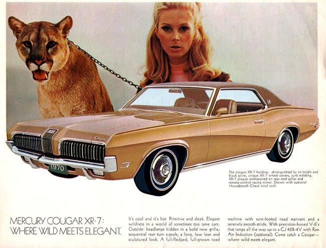 Cool Wheels Car Brochure #1 - Lincoln Mercury Retro Life Style