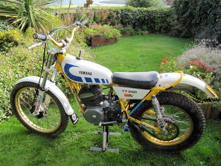 1977 Yamaha 250 Enduro Parts