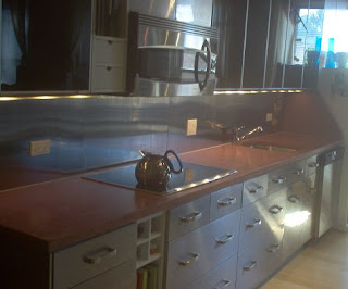 Be Mod With Concrete Countertops