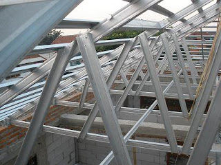 Dimensi Truss Baja Ringan Sukses Mandiri Teknik: Pasang Atap