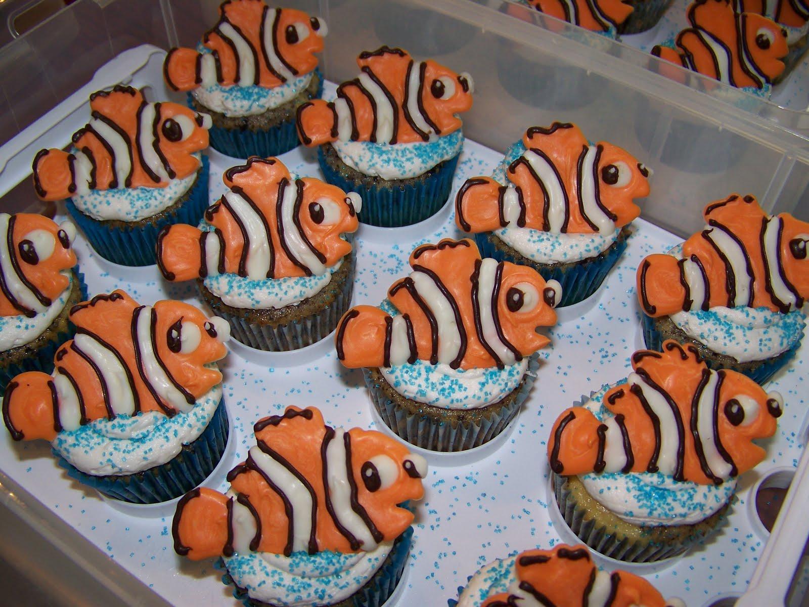 Plumeria Cake Studio Nemo Cupcakes