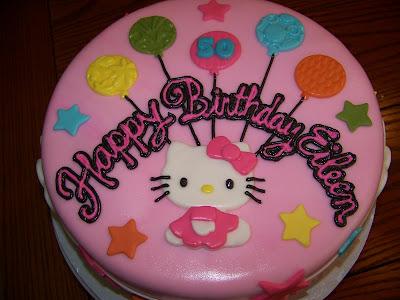 Plumeria Cake Studio Hello Kitty Birthday Cake