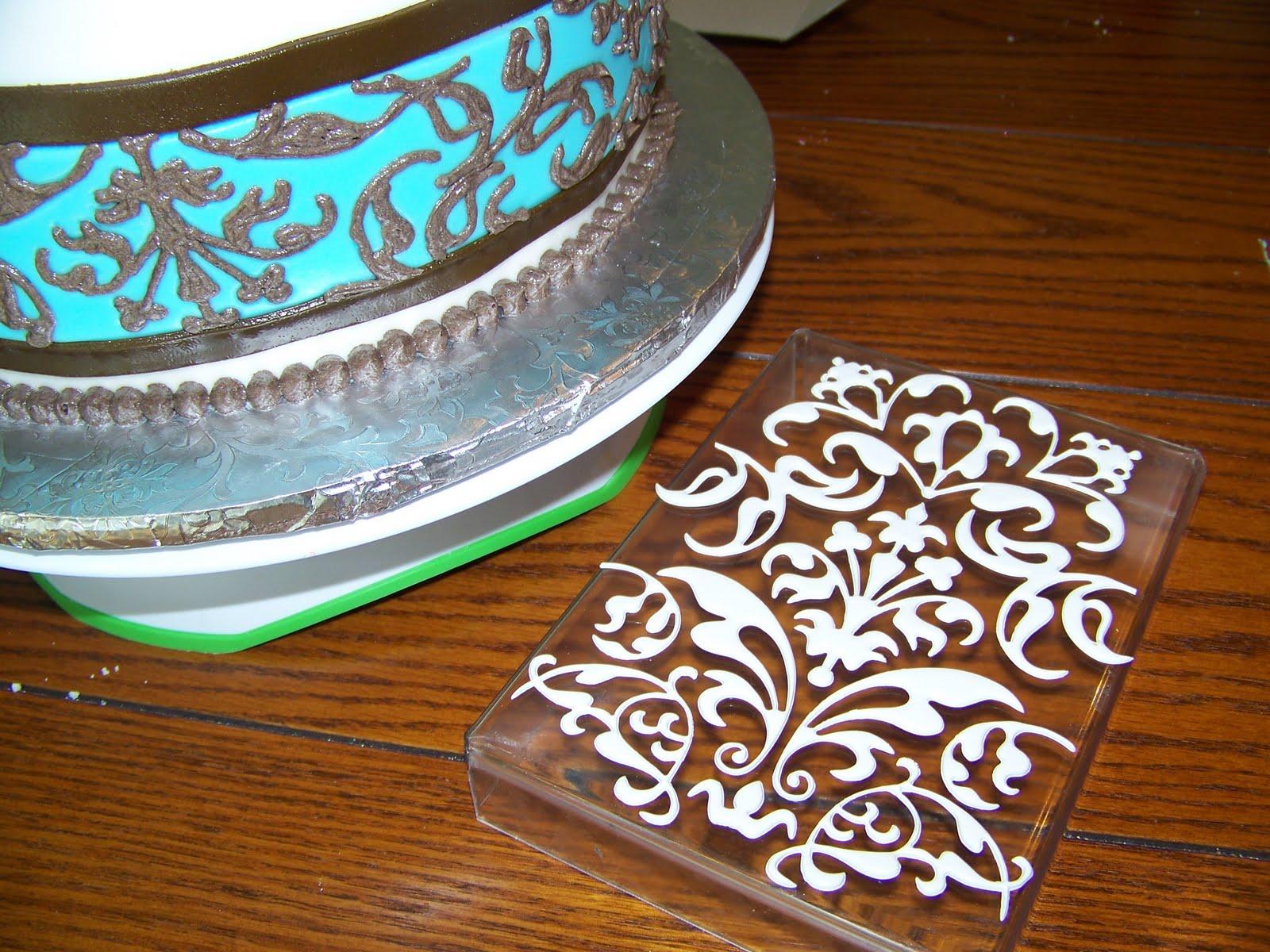 Plumeria Cake Studio Fancy Baby Rattle Cake