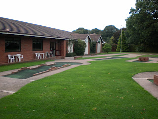 Miniature Golf at the Four Ashes Golf Centre in Dorridge, Solihull