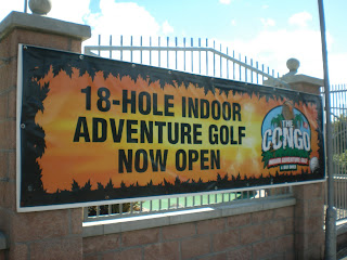 The Congo Indoor Adventure Golf at Codona's Amusement Park in Aberdeen