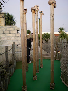 Lost World Adventure Golf Course on Beach Road, Hemsby