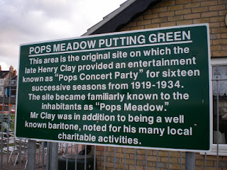 Pops Meadow Putting Green in Gorleston-on-Sea, Norfolk