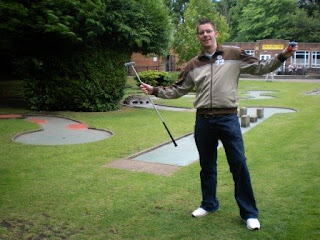 Minigolf at Spa Gardens in Ripon