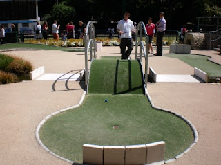 Mini Golf course at Bournemouth's Lower Gardens