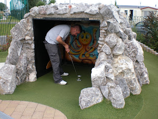 Adventure Golf at Trecco Caravan Park in Porthcawl