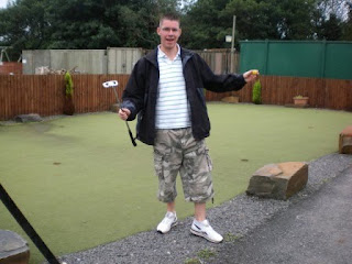Minigolf Putting Course at Gowerton Golf Range