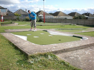 Arnold Palmer Minigolf Putting Course in Prestatyn