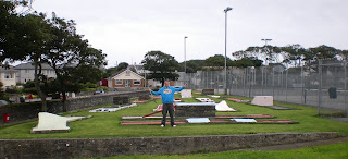 Crazy Golf at Holyhead Park on the Isle of Anglesey