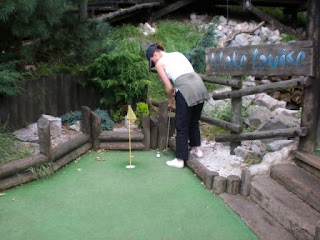 Adventure Golf course on The Great Orme in Llandudno